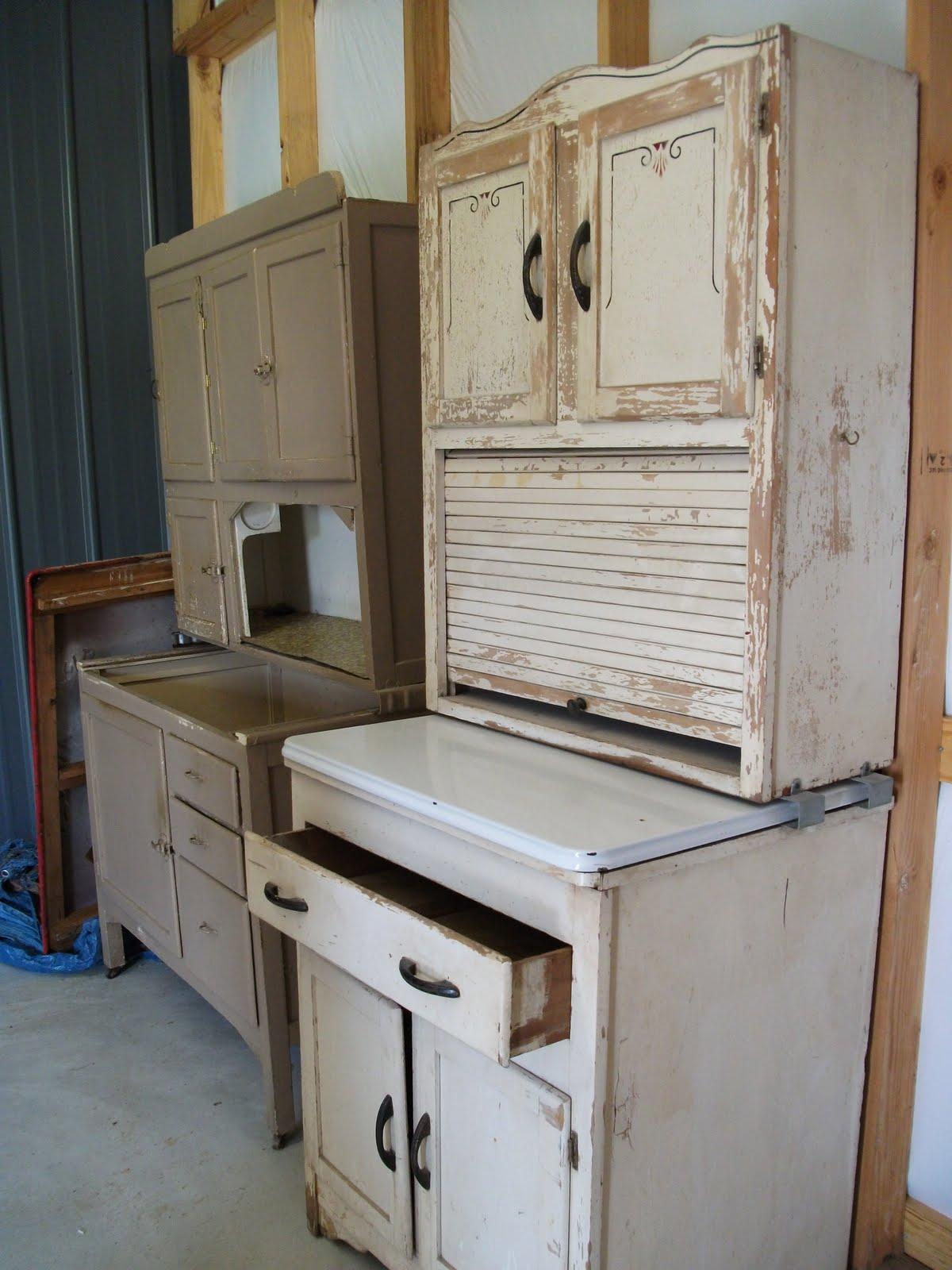 Hoosier Cabinet Redo | Vaughn's Cabinets Blog