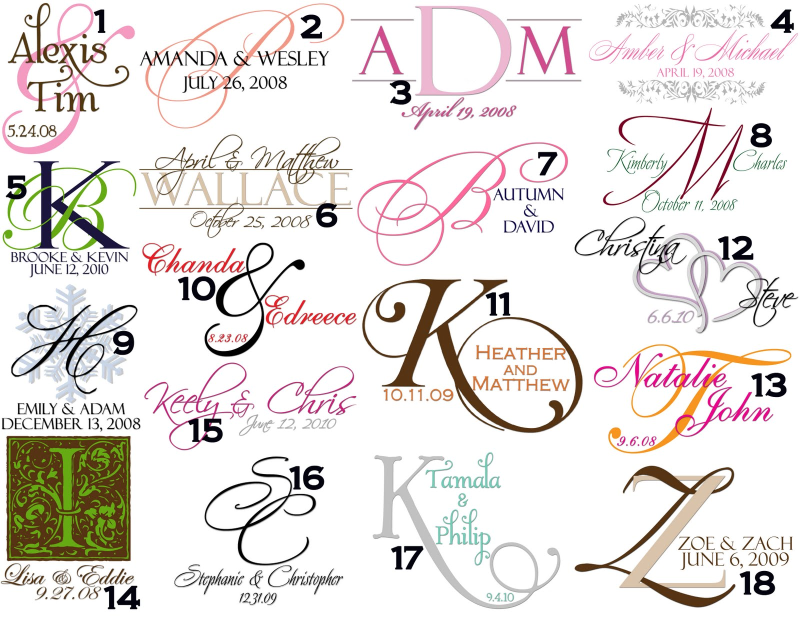 Free Monogram Template. material select a material white card ...