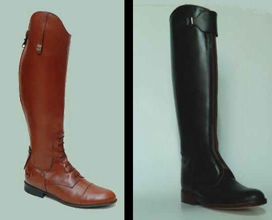 Como vestimos botas de montar no solo para montar for Botas montar a caballo