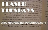 Teaser Tuesdays Should Be Reading logo