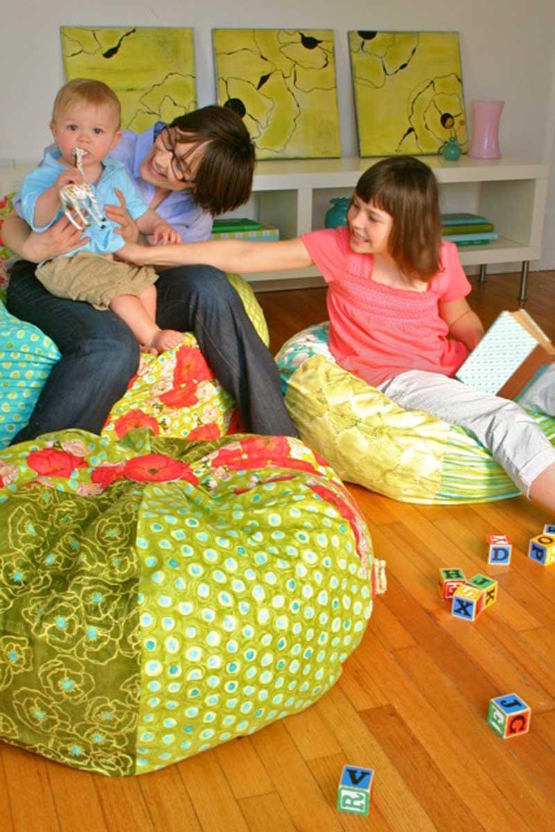 how to sew bean bag chair handicap swing making it fun adult