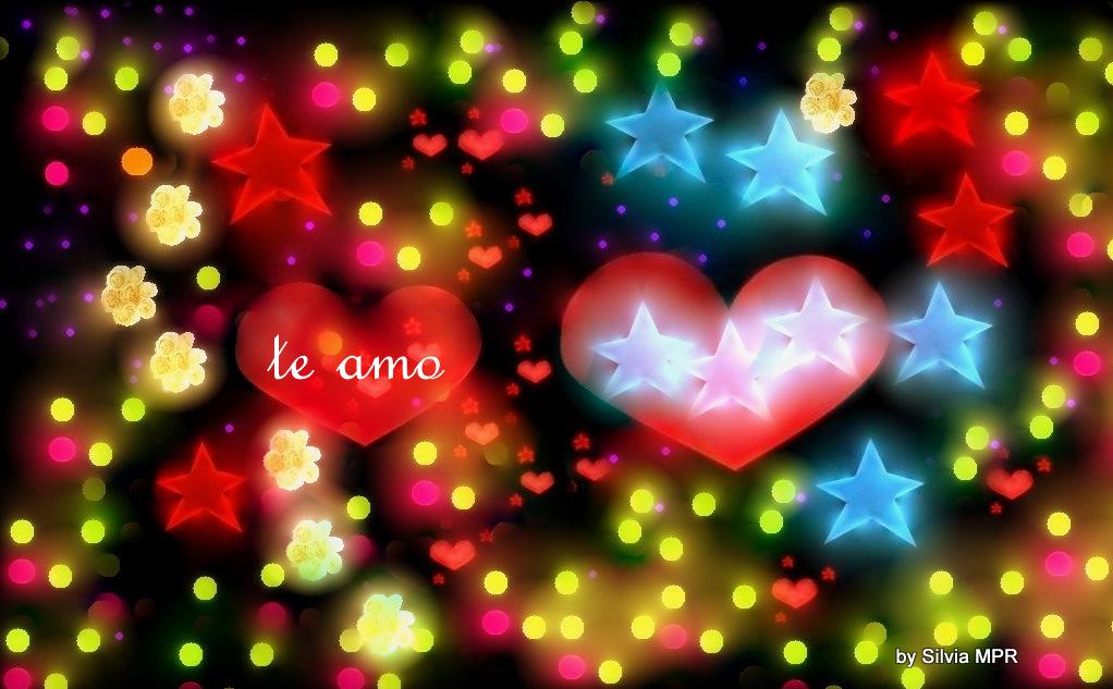 Fondos De Corazones Y Estrellas: Imagenes De Amor, Corazones Estrellas Luces Y Flores De