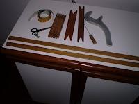 Apetrechos utilizados em trabalhos de Tear de Pente Liço.