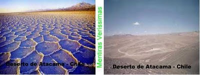 Deserto do Atacama no Chile.