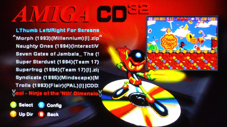 Amiga games on xbox one