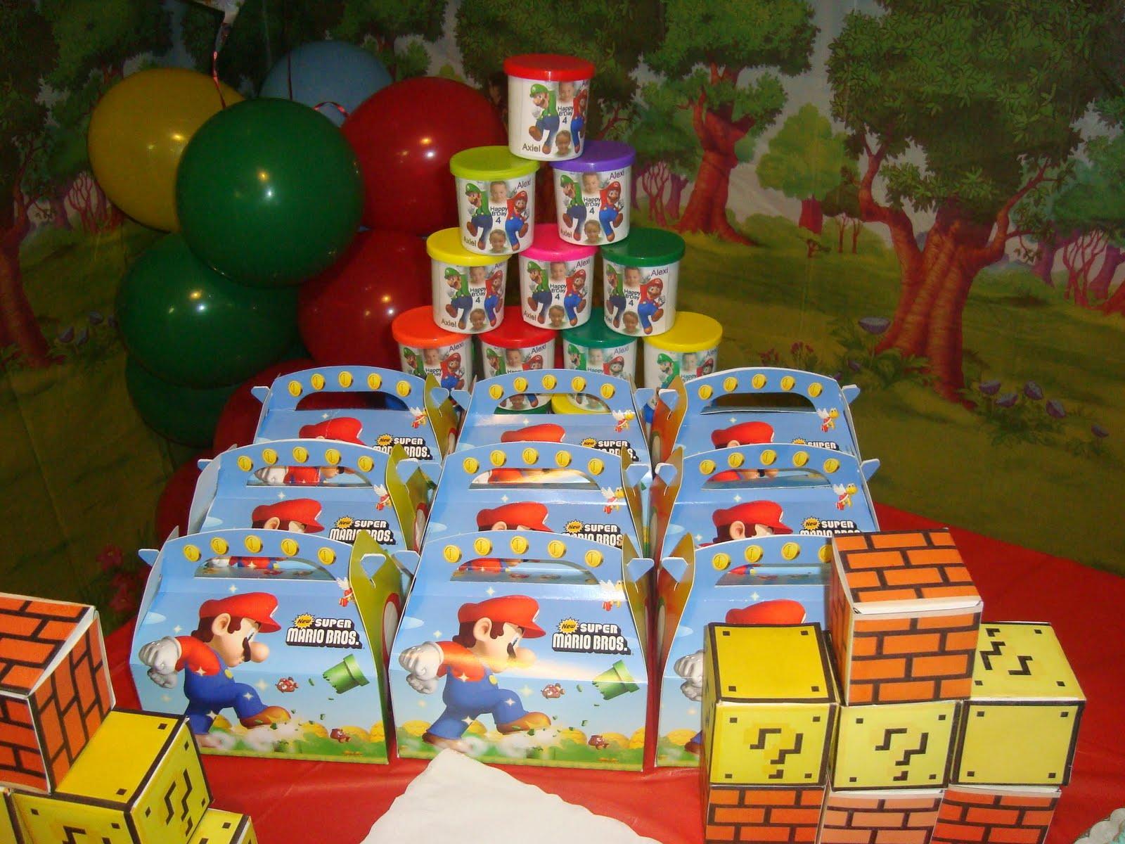 Mario Bros Mario Bros Cumpleaños