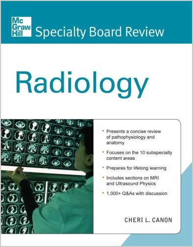 Mcgraw Hill Specialty Board Review Radiology Usmle Books