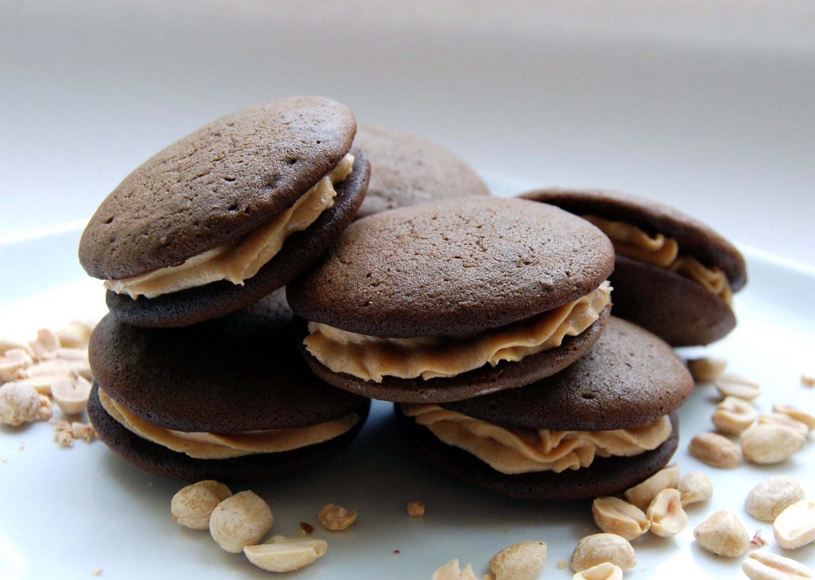The Broken Oven: Chocolate & Peanut Butter Gobs