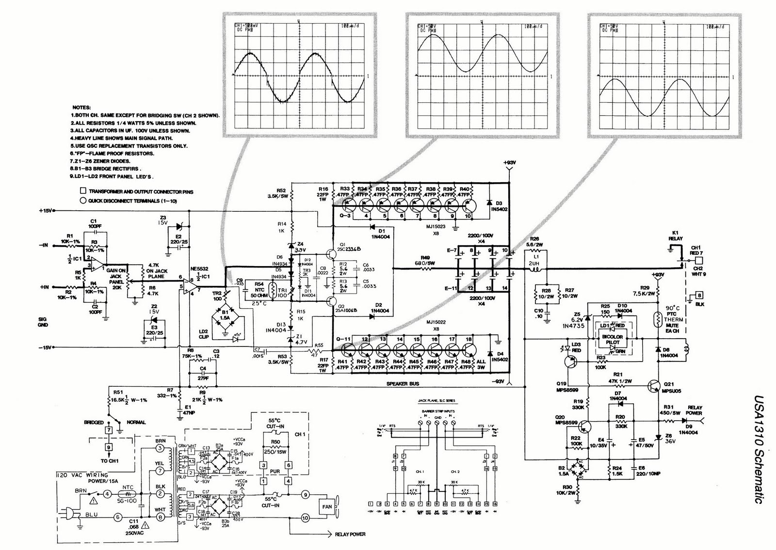 Ro Electronica Schema Amplificator Audio Cu Tranzistori
