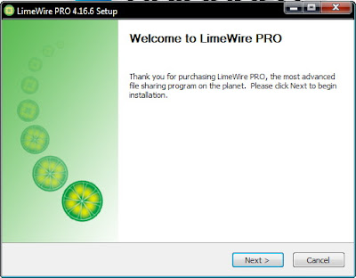 limewire version 4.16.6