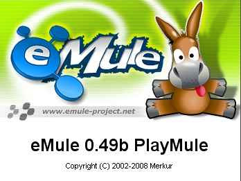 eMule 0.49b PlayMule Build 080905