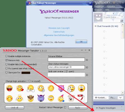 Yahoo! Messenger 9.0.0.1912 No Ads