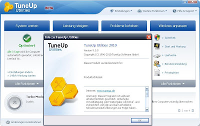 TuneUp Utilities 2010 Beta 3