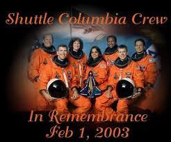 SWAC Girl: Shuttle Columbia disaster ... February 1, 2003