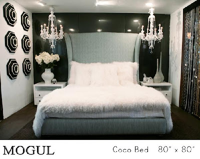 inspiring hollywood bedroom furniture set   Style Niche: Glamorous Bedrooms