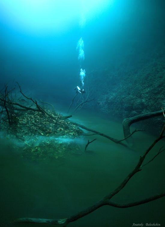 Sungai+di+Dalam+Laut+3 Misteri Sungai di Dalam Laut Mexico