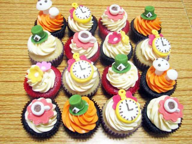 Pandora Bakeshop Homemade Stylish Cupcakes In Bangkok