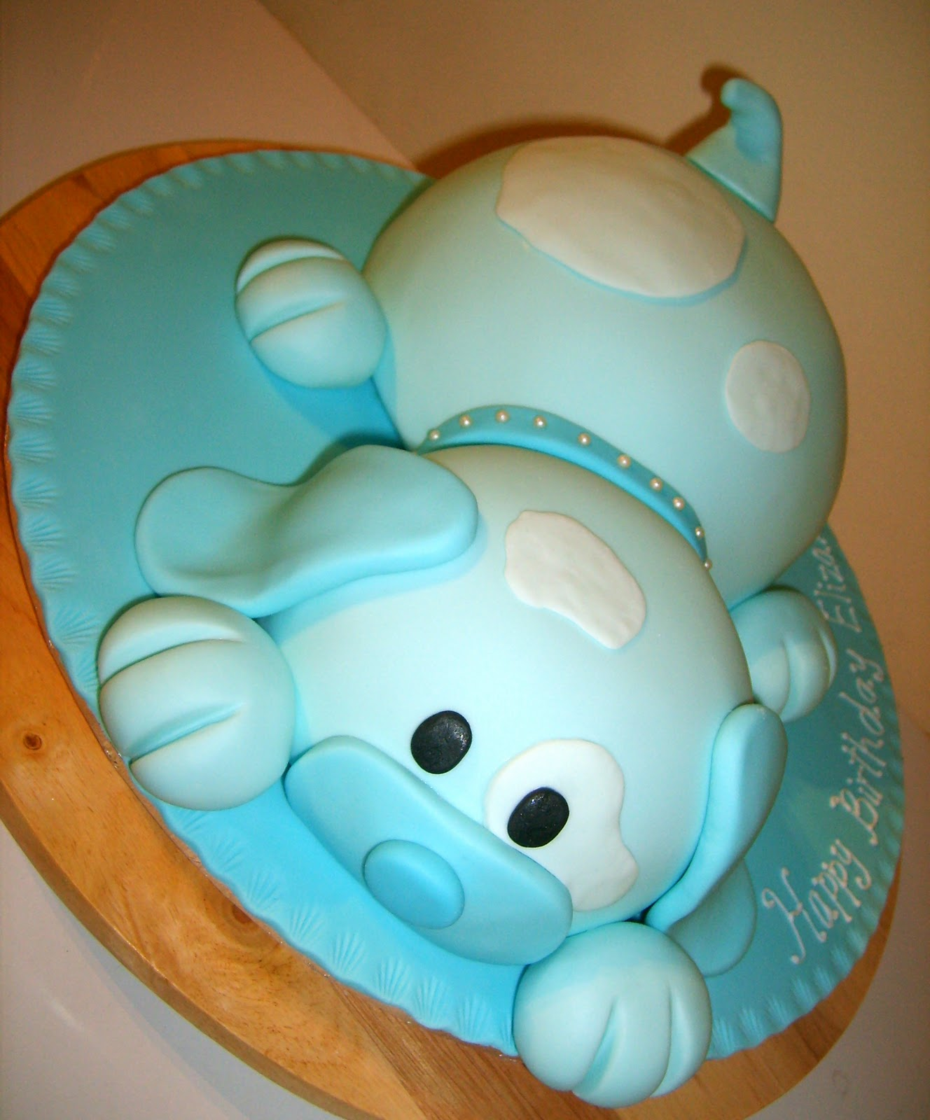Puppy Dog Cake Childrens Cakes