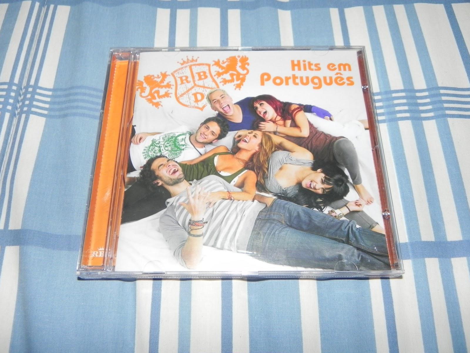cd rbd hits portugues