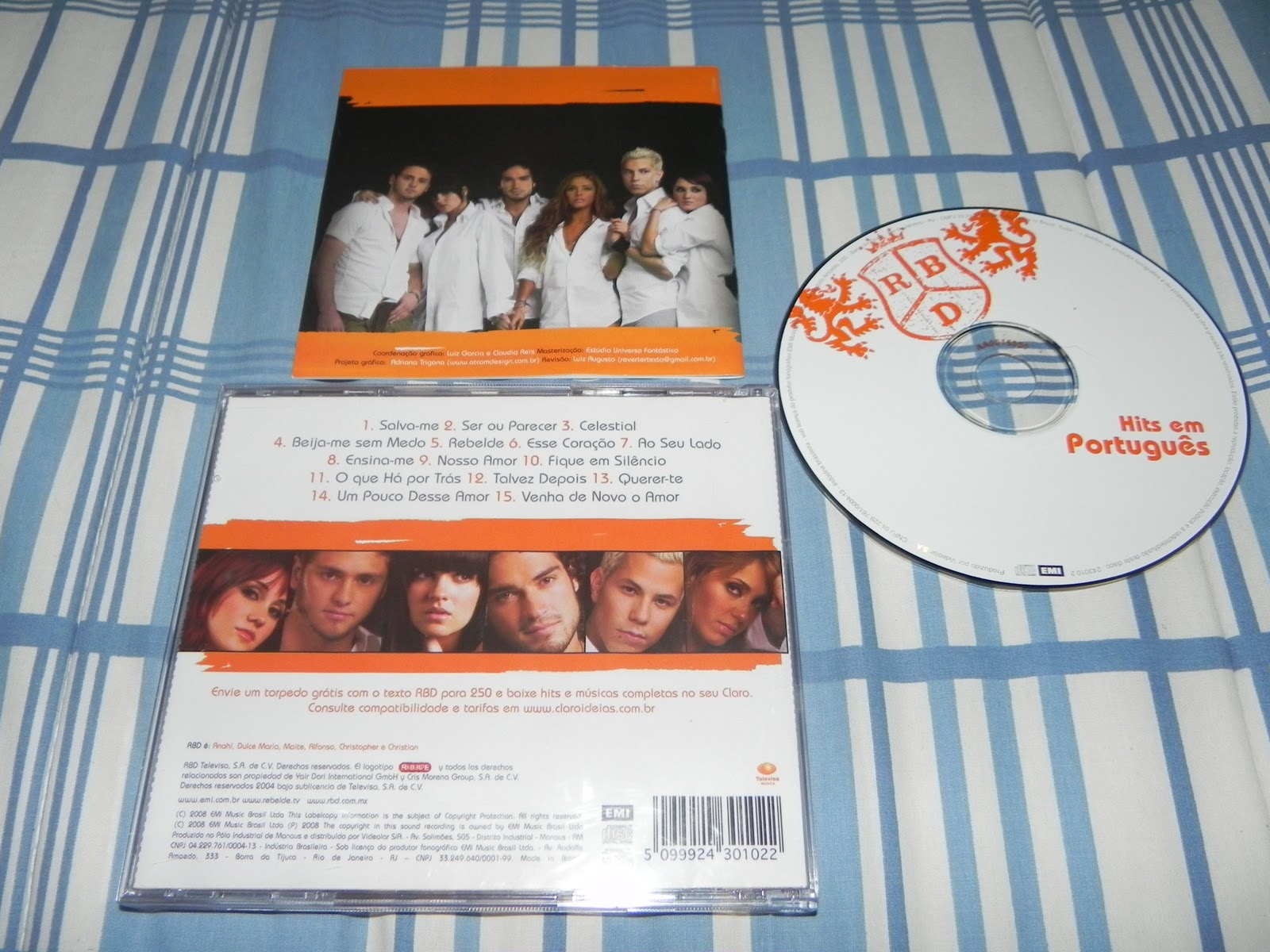 cd rbd hits portugues