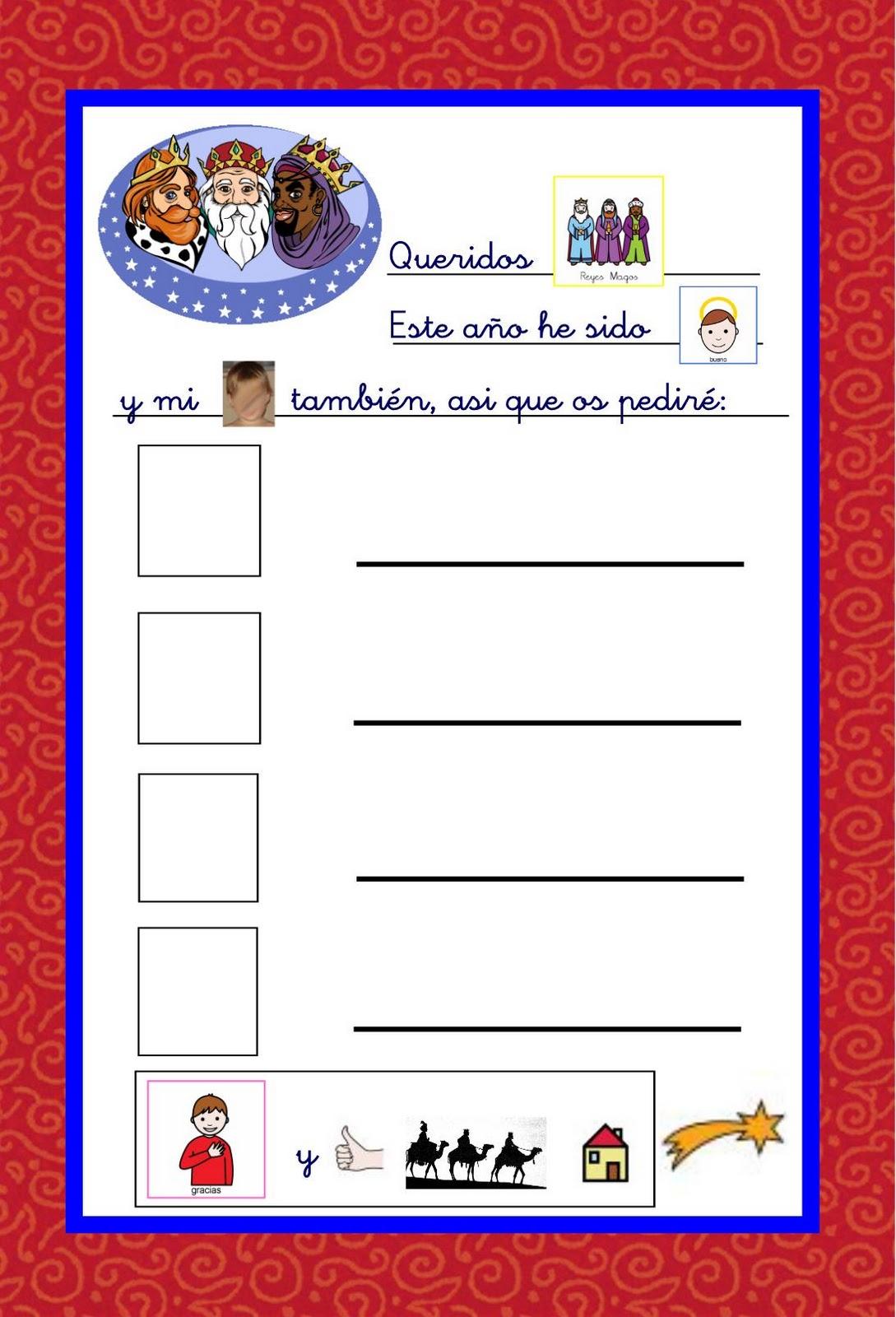 Imagenes De Cartas Para Los Reyes Magos