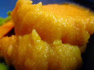 Morsels of Life - Mashed Rutabaga - Sweet rutabaga mashed with potatoes and carrots flavored with onion.