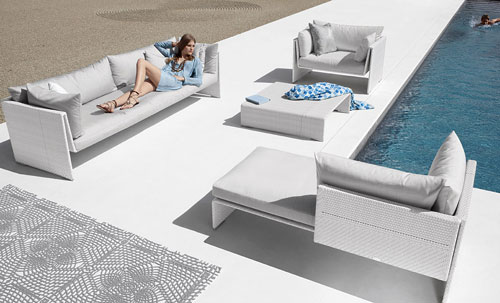 Dedon Slimline Outdoor Furniture Design