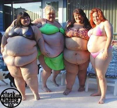 Fat girls in g strings