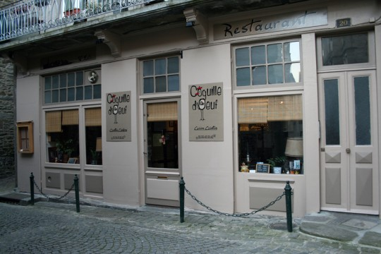 Coquille D Oeuf Restaurant St Malo