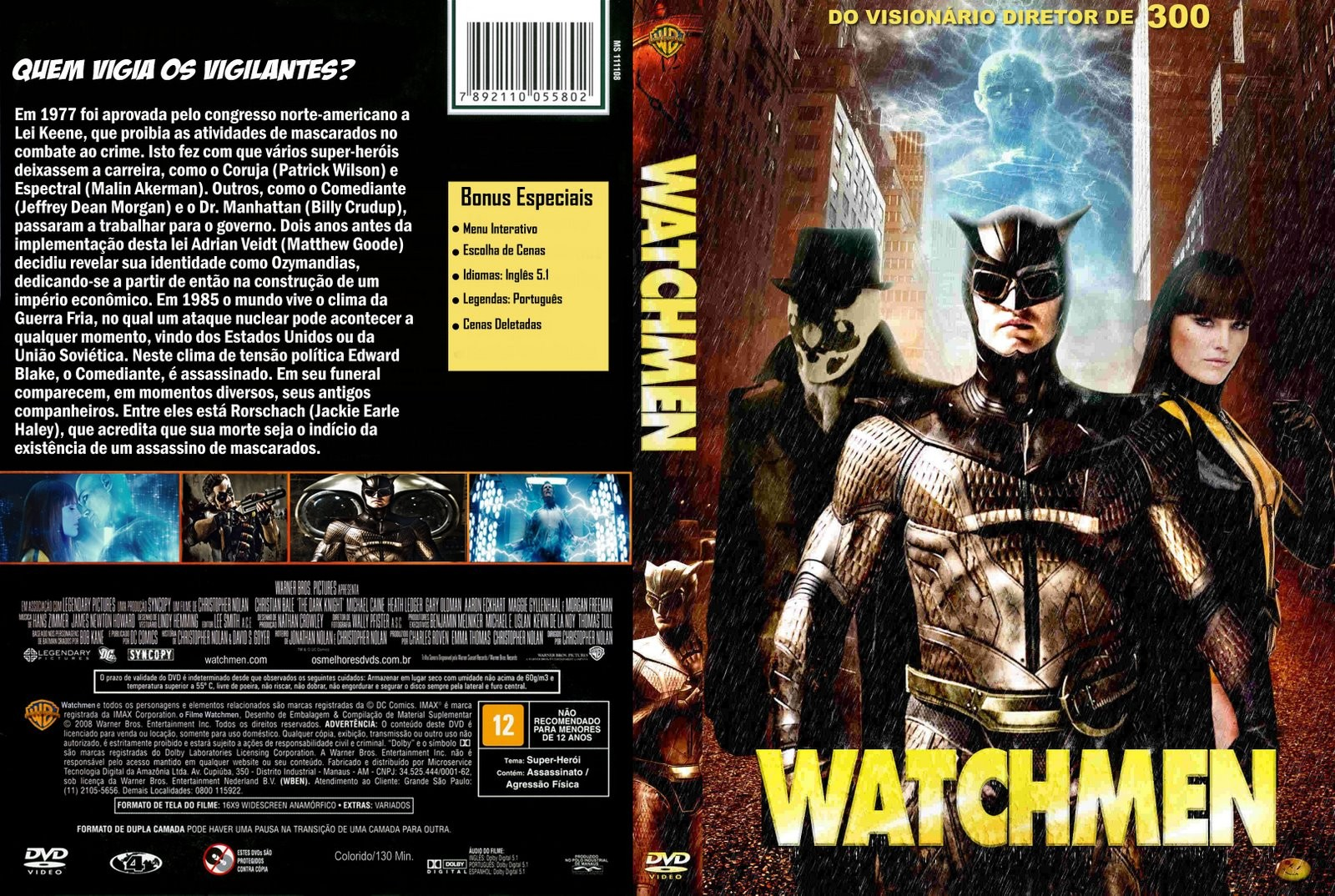 legenda em portugues do filme watchmen