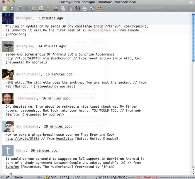 Shanidar - Emacs 30 Day Challenge Update #1: Writing this in