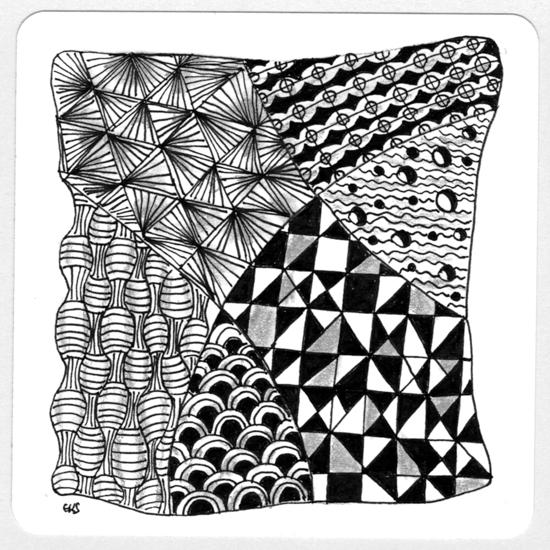 gakis blog was ist zentangle und wie geht es. Black Bedroom Furniture Sets. Home Design Ideas