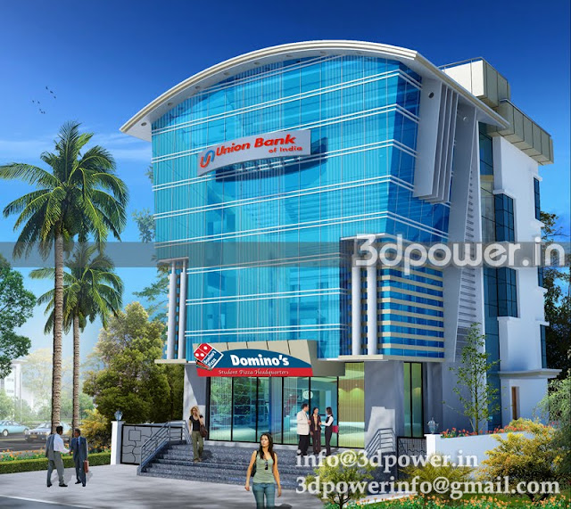 """""""office rendering services India"""""""