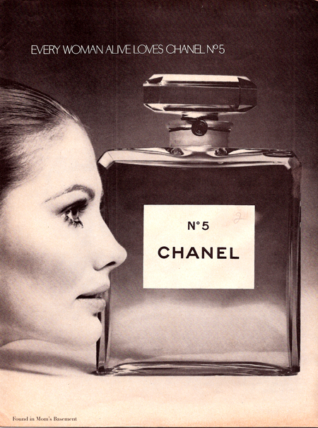 1920s chanel ads
