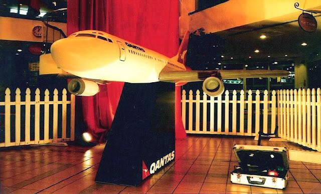 Qantas Birthday Cake