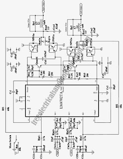circuit wiring: High Fidelity Stereo Power Amplifier Circuit