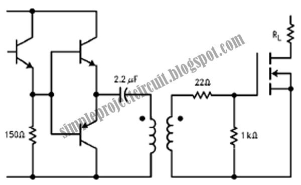 simple project circuit  simple emitter follower driver