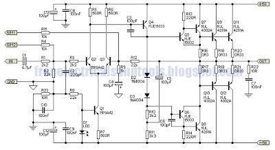 Subwoofer Power Amplifier Circuit Diagram | Wiring Schematic