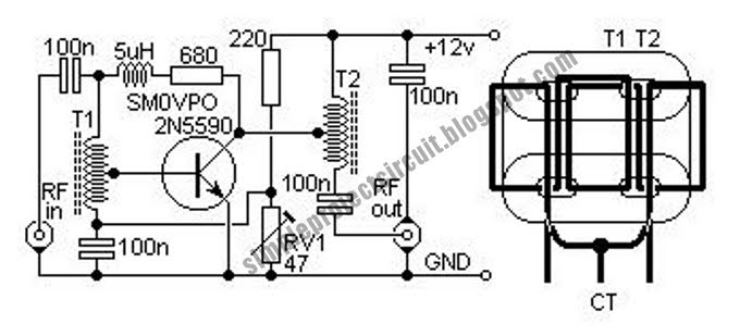 hf 300khz 30mhz linear amplifier