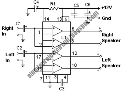 simple project electronic circuit: July 2010