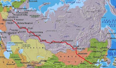 transsibiriska järnvägen karta johanna & kajsa   lost in asia: Transsibiriska järnvägen transsibiriska järnvägen karta
