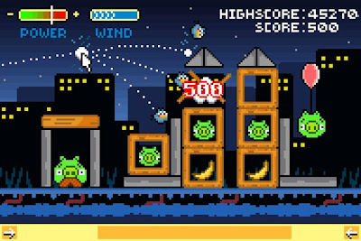 smallAngry-Bird-Retro-2 Designers ingleses criam gráficos de 8 bits para Angry Birds