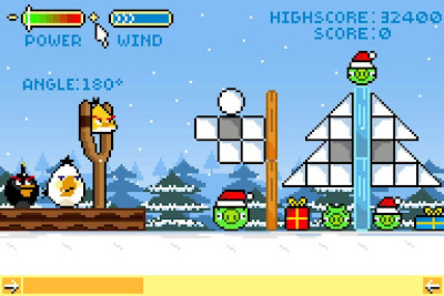 smallAngry-Bird-Retro-3 Designers ingleses criam gráficos de 8 bits para Angry Birds