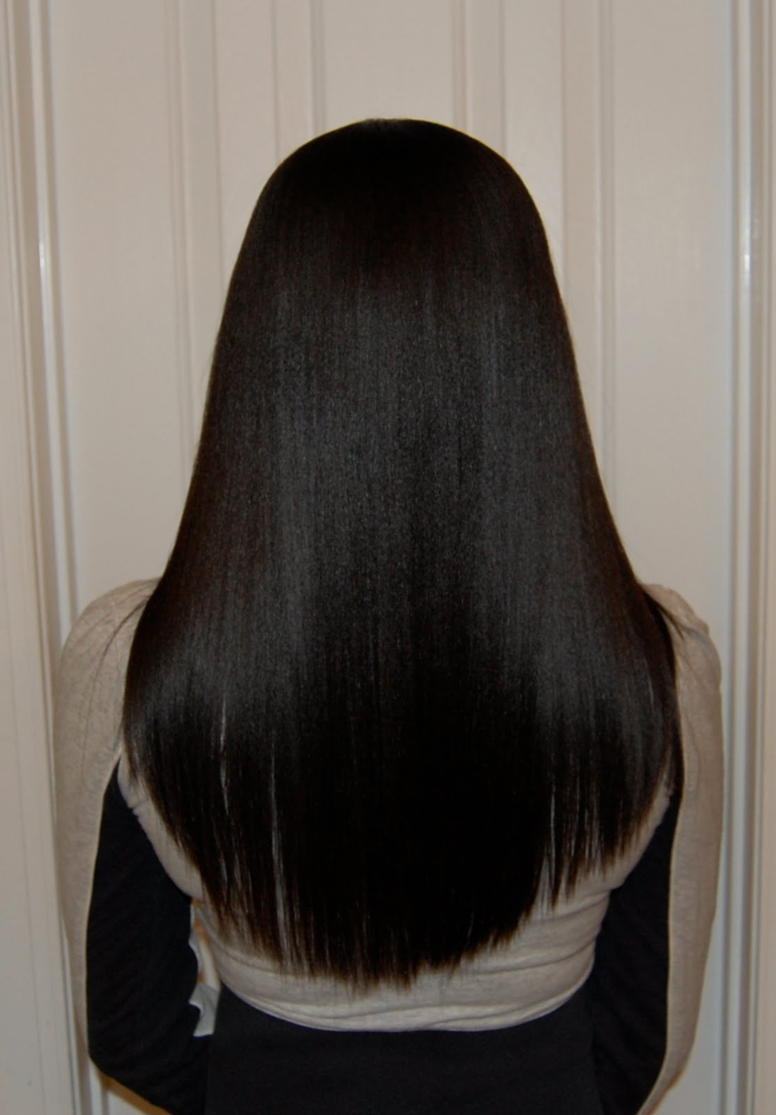 Coarse Hair Long Hair Relaxer Day Pictures