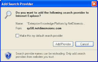 Add Search Provider confirmation dialog box