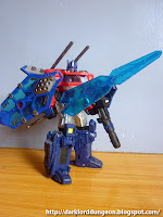 Optimus Prime with Perfect Effect's The Another War (TAW-01) God Sword