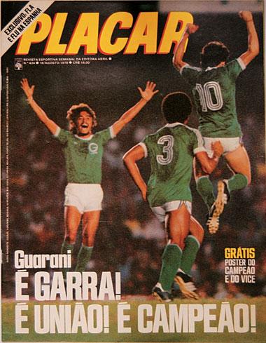 Guarani: Campeão Brasileiro de 1978