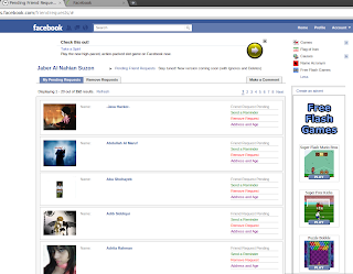 See the List of All Pending Friend Requests in Facebook