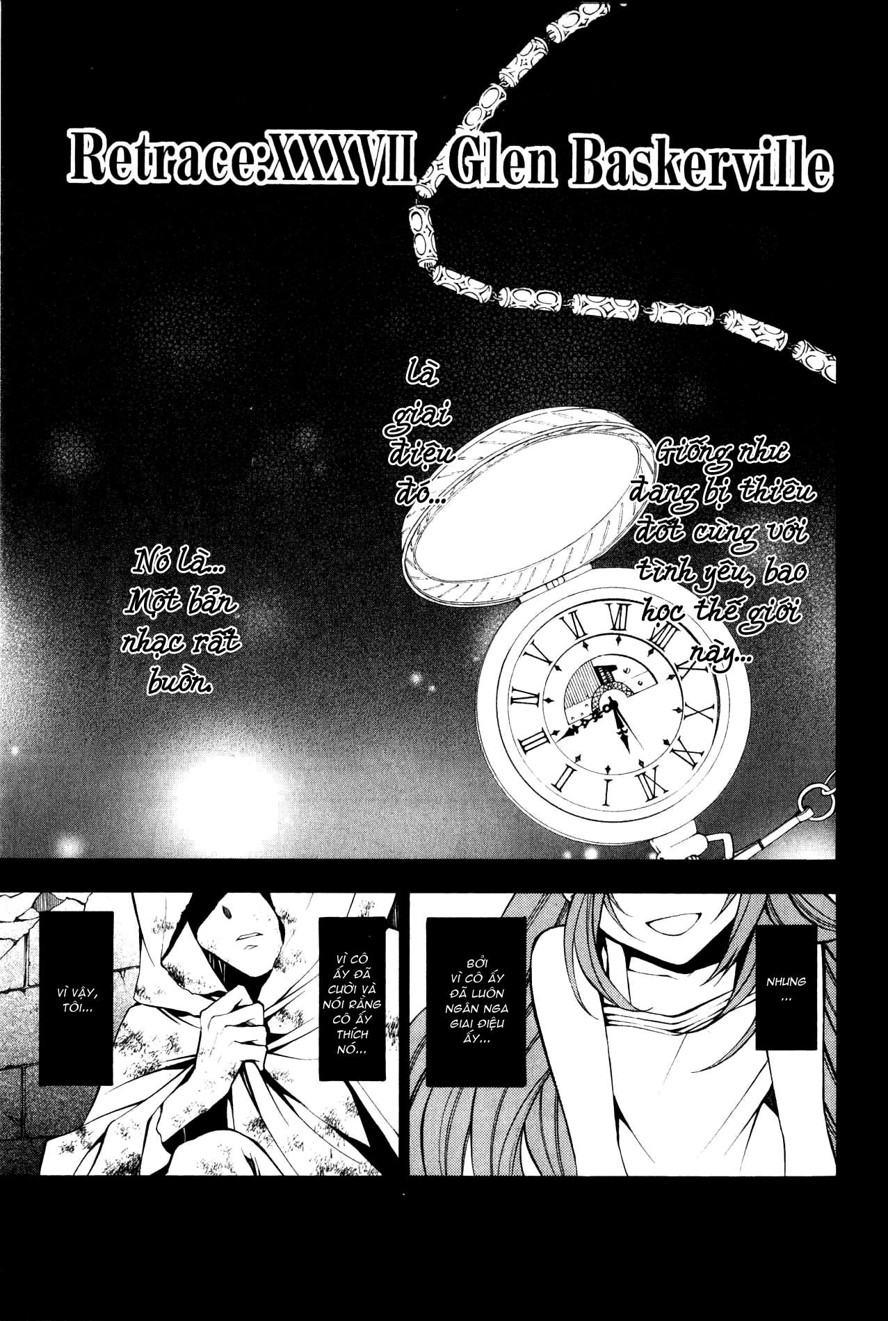 Pandora Hearts chương 037 - retrace: xxxvii glen baskerville trang 2