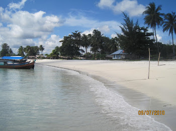 The Beuaty of Belitung Beach!